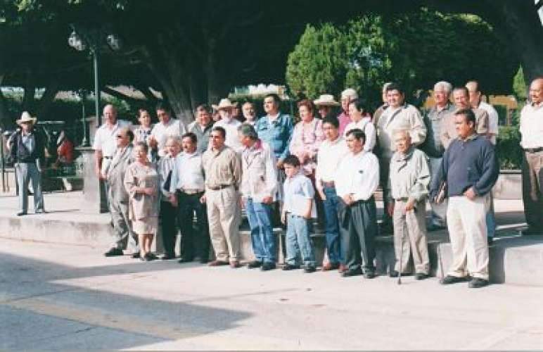 Grupo de Cronistas en Comonfort