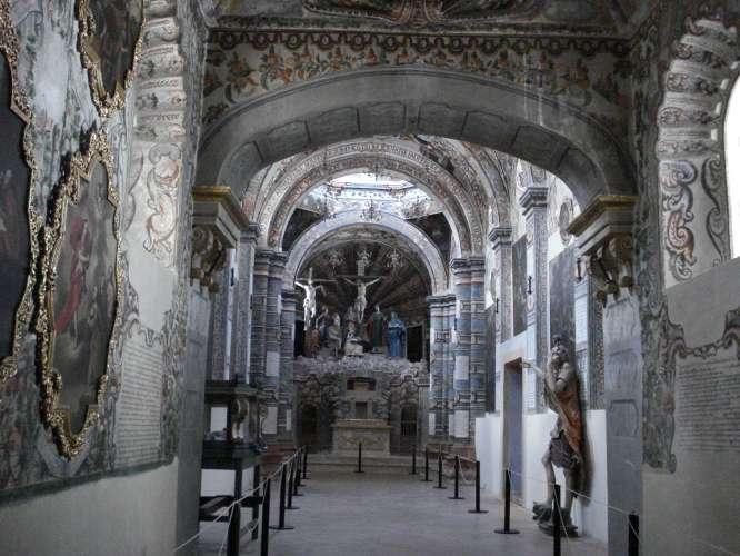 Capilla de la Cruxificción en el templo de Atotonilco,Mpiode San Miguel de Allende, Gto
