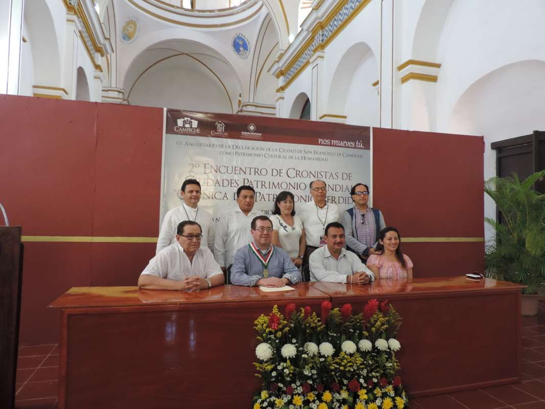 Crónica del 2° ENCUENTRO DE CRONISTAS DE CIUDADES PATRIMONIO DE LA HUMANIDAD.