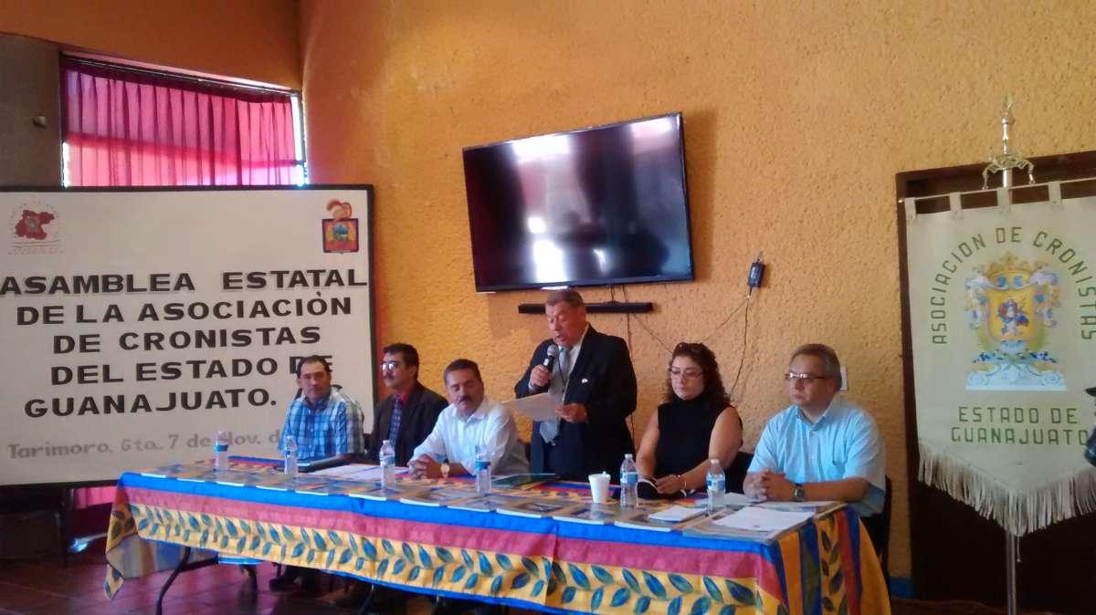 ASAMBLEA DE LA ASOCIACIÓN DE CRONISTAS DEL ESTADO EN EL MUNICIPIO DE TARIMORO