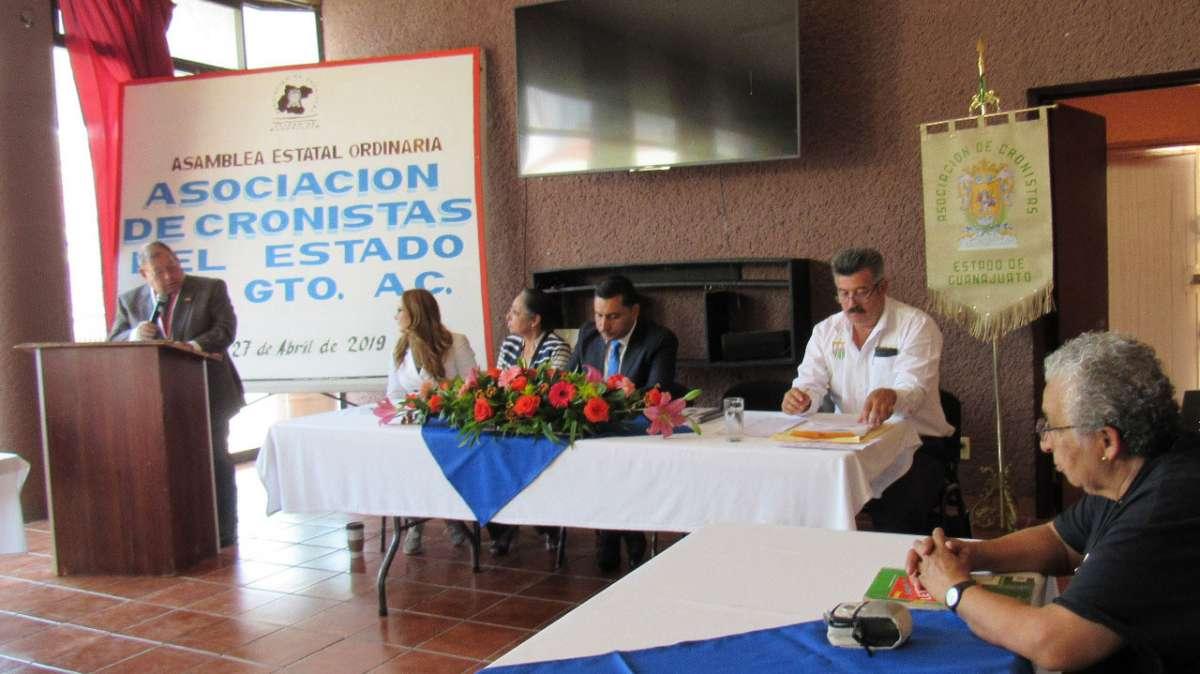 Eligen a Gerardo Argueta Saucedo  como Presidente de los Cronistas de Guanajuato