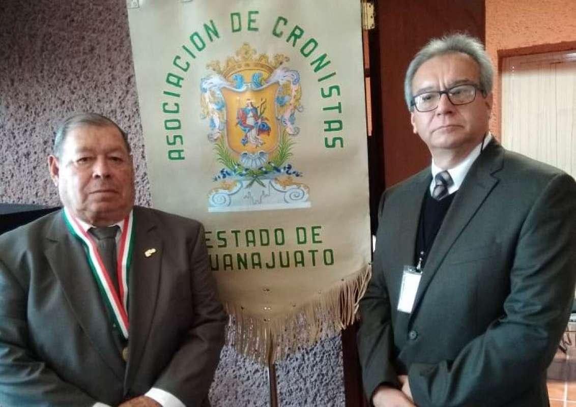 Aurelio Conejo, izquierda, y Gerardo Argueta, derecha